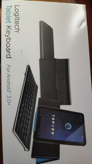 Bluetooth keyboard logitech for tablets for Sale in Rockville, MD