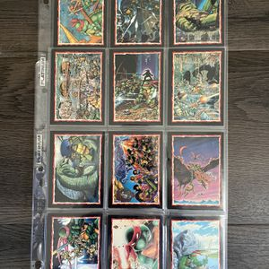 Teenage Mutant Ninja Turtles Vintage Limited Edition Collectible Cards for Sale in Culver City, CA