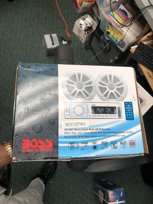 Boss Audio Car Radio!! Negotiable for Sale in Baltimore, MD