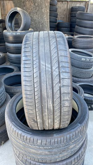 used continental tire set 265/35/21 for Sale in Modesto, CA