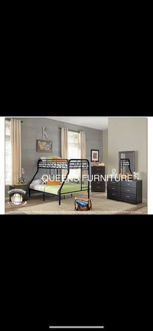 BRAND NEW TWIN/FULL BUNK BED 60% OFF MATTRESSES INCLUDED for Sale in Milwaukee, WI