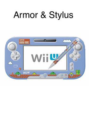 Wii U Gamepad Armor + Stylus Original Nintendo Hori new for Sale in Huntington Park, CA