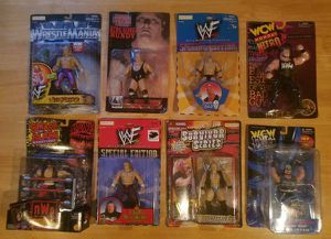 (*Price Reduced*) Wrestling action figures all still in factory packages and never opened for Sale in Tarentum, PA