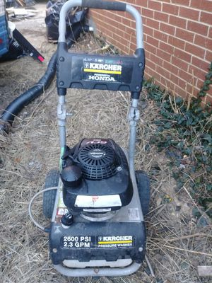2600 psi karcher pressure washer for Sale in Washington, DC
