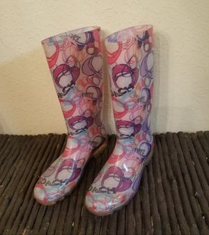 Coach Rain Boots for Sale in San Diego, CA