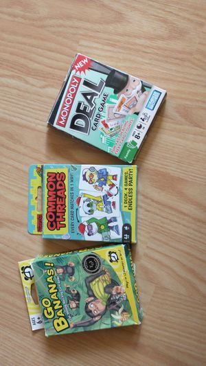 Kids card games for Sale in Marshfield, WI