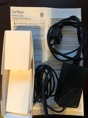 Microsoft surface charger 65W for Sale in Stony Brook, NY