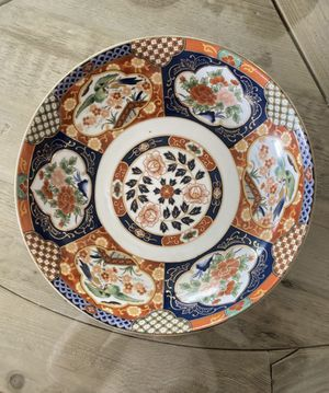 BEAUTIFUL Large Imari collectible bowl. Perfect condition! Never used! for Sale in Puyallup, WA
