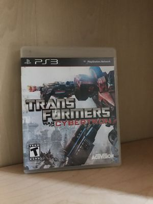 Transformers war for cyber torn PS3 game for Sale in Torrance, CA