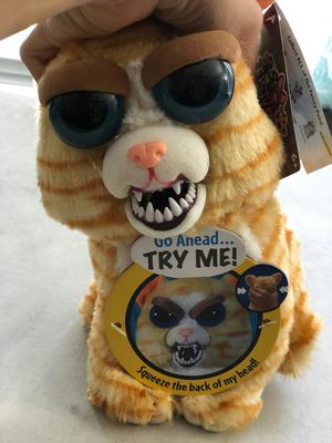 Brand new feisty pets princess pottymouth toy stuffed plush cat for Sale in Sunrise, FL