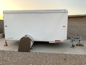 6 x 12' Enclosed trailer for Sale in Fort McDowell, AZ