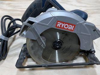 Ryobi 7 1/4 Inch Circular Saw. Used But Works Perfectly! for Sale in Canton,  GA