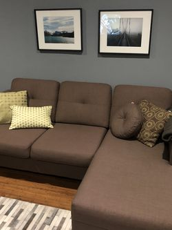 Sofa - Khaki - 83 Inch for Sale in Alameda,  CA