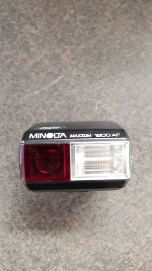 Minolta camera flash for Sale in Detroit, MI