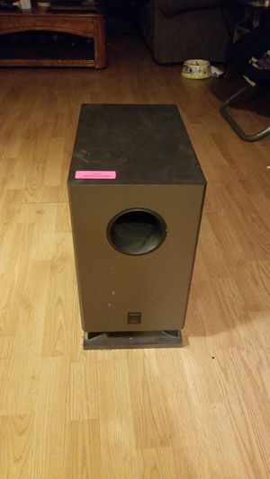 Sub woofer for stereo system for Sale in Raleigh, NC