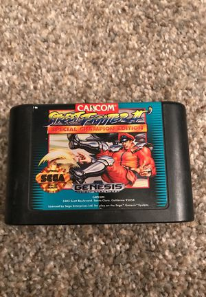 Street Fighter 2: Special Champion Edition for Sega Genesis for Sale in Denver, CO