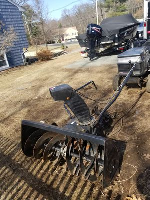 Craftsman Riding Mower Tractor 2 Stage Bnowblower for Sale in Wakefield, MA