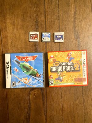 Super Mario Bros2 Nintendo 3DS And Other games for Sale in Holly Springs, NC