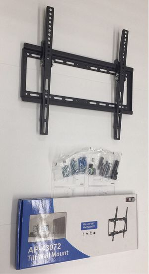 New in box 32 to 50 inches tilt tilting tv television wall mount bracket flat screen soporte de tv for Sale in Covina, CA