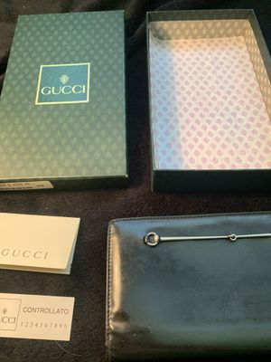 Authentic Gucci patent leather horsebit wallet. for Sale in Milwaukie, OR