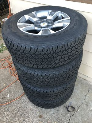 255/65R17 chevy rims and brand new tires for Sale in Portland, OR