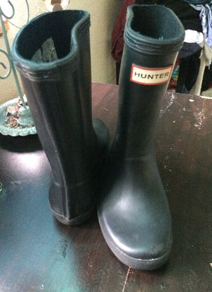 Kids hunter rain boots for Sale in Vallejo, CA