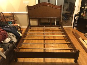 Beautiful queen size bed frame for Sale in Richmond, VA