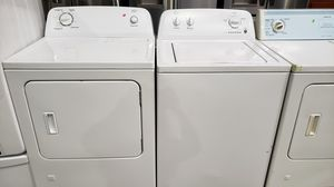 ROPER TOP LOAD WASHER AND GAS DRYER SET for Sale in Moreno Valley, CA