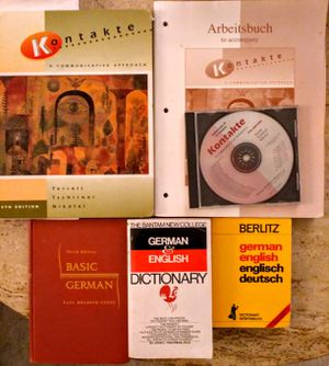 German language books for Sale in Redondo Beach, CA