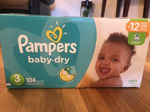 Baby diapers for Sale in Lawrence, MA
