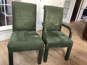4 Roll Back Dining Chairs for Sale in Vienna, VA