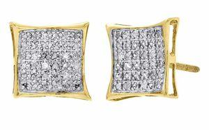 Earrings 10k .60ct Diamonds 225$ for Sale in ROXBURY CROSSING, MA