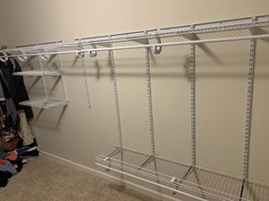 Custom closet system shelving and storage installation. for Sale in North Saint Paul, MN