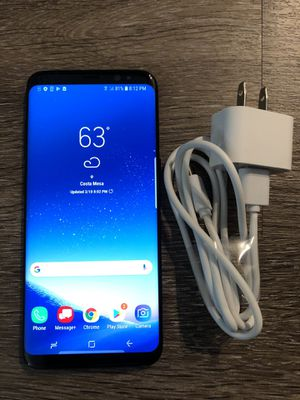 Like New! Unlocked Samsung Galaxy S8 ~ Any Carrier! for Sale in Costa Mesa, CA