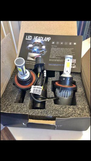 Brand New 2 Bulbs Car led headlights kit leds H4 H7 H8 H9 and H11 /H10 /9003 and 9004/9005/HB3 and 9006/HB4 /and 9007/9008 H13 for Sale in Corona, CA