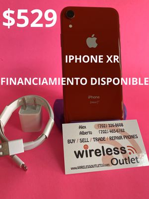 IPHONE XR 64GB UNLOCKED!!! FINANCING AVAILABLE!!! for Sale in Las Vegas, NV