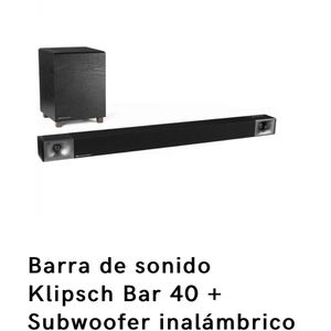 Klipsch Bar 40 + Subwoofer Inalámbrico NUEVO for Sale in Los Angeles, CA