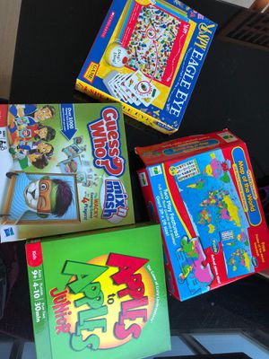 4 complete boxes - board games and puzzle for Sale in Corona, CA