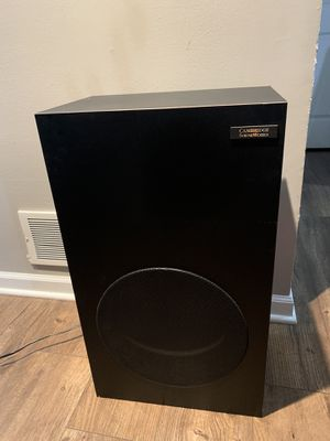 Cambridge Soundworks PSW subwoofer for Sale in Carol Stream, IL
