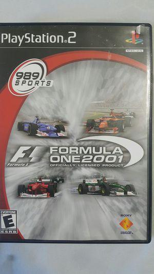 FORMULA 1 2001 FOR PS2 for Sale in Miami Gardens, FL