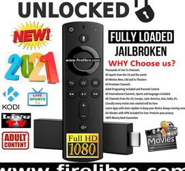 Amazon Fire Stick Jailbroken and Fully Loaded. for Sale in Brooklyn,  NY