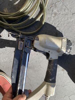 Nail gun an hose for Sale in Oceanside, CA
