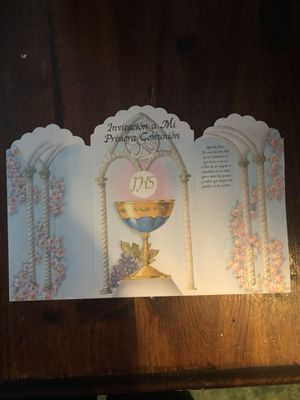 13 pieces first communion invitation for Sale in West Valley City, UT
