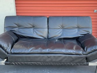 CLEARANCE | COSTCO Sofa Bed Lounger Futon, Black | Used for Sale in San Diego,  CA