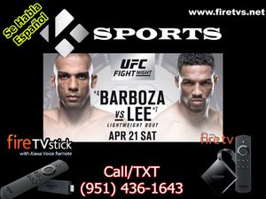 UFC FIGHT NIGHT without Cable TV for Sale in Colton, CA
