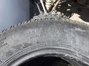 Trailer tires 225/75 r15 for Sale in Lacey, WA