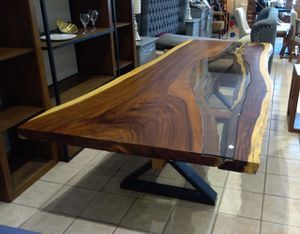 Live Edge Wood Dining Table for Sale in Bonita, CA