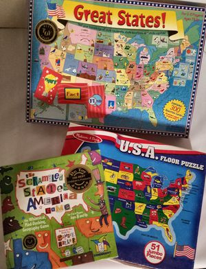States Puzzles and Game for Sale in Stuart, FL