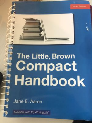 Little Brown Compact Handbook. College level for Sale in Tampa, FL