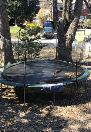 Trampoline with net for Sale in Silver Spring, MD